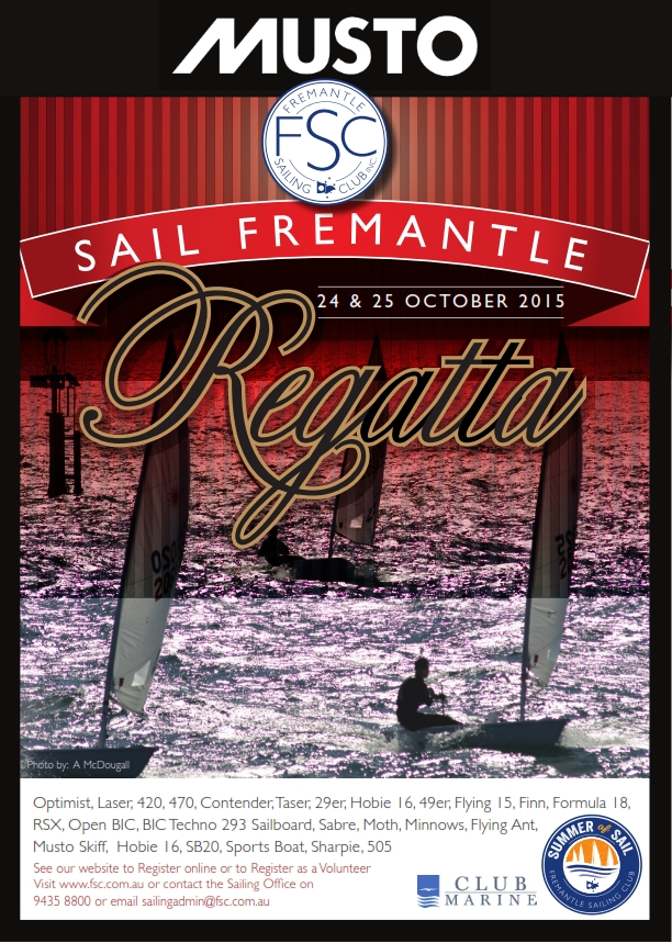 Musto Sail Fremantle
