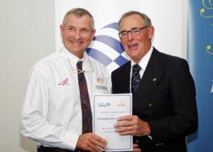 Swanny at the WA Sailing Awards